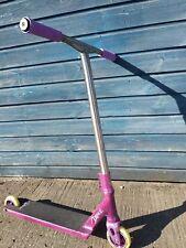 Custom District Fasen Blunt Phoenix Purple Pro Stunt Scooter