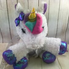 Barbie UNICORN Plush Unicorn  Lights & Sounds (AI)