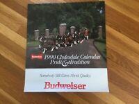Clysdale 1990 Official Budweiser Calendar