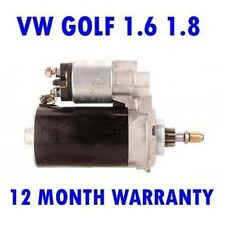 VW Golf 1.6 1.8 1982 1983 1984 1985 1986-1993 Remanufacturado Motor de Arranque