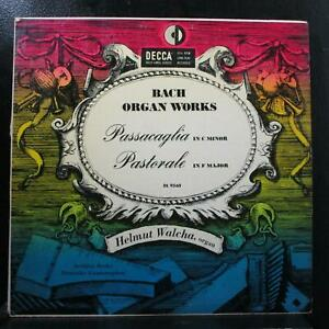 Walcha - Bach Organ Works LP VG+ Mono Decca DL 9560 USA 1951