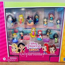 Disney Princess Comics Minis Comfy Squad Collection Pack, 12 Dolls Collectable