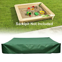 Waterproof Outdoor Sandbox Sandpit Sand Pit Toy Box Pool Rain Protector Cover*&
