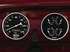 1951-1952 Chevy Car Billet Aluminum Gauge Panel Dash Insert Instrument Cluster