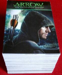 ARROW - Season 1 - Complete Base Set (95 trading cards) - Cryptozoic 2014