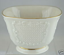 Vintage Lenox Usa Made Small Bowl/Dish Gold Rim Ivory China