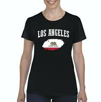 Los Angeles California Women Shirts T-Shirt Tee