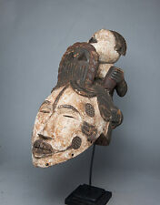 Igbo Ikorodo Helmet Crest Mask, Nigeria, African Tribal Arts, African Mask