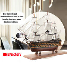 HMS Victory Wooden Sailing Boat Model DIY Kit Ship Assembly Decoration Gift