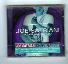 CD (NEW) JOE SATRIANI IS THERE LOVE IN SPACE