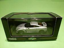 EBBRO 44100 NISSAN GT-R BLACK EDITION  - SILVER 1:43 - NEAR MINT IN BOX