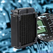 RADIATORE Ventola della CPU RAME 80mm per PC/Computer Liquid Water Raffreddamento Dissipatore di calore a vite