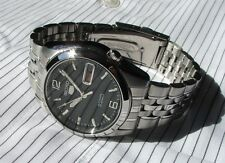 Seiko 5 Automatic Mens Watch 21 Jewels See Through Back SNK393K1 UK Seller