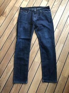 mens armani jeans 34 waist 32 leg Slim