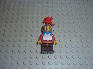Personnage Minifig LEGO Castle Réf cas179 Set 6086-1: Black Knight's Castle
