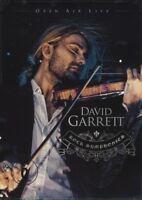 "DAVID GARRETT ""ROCK SYMPHONIES-OPEN AIR LIVE"" 2 DVD NEW+"