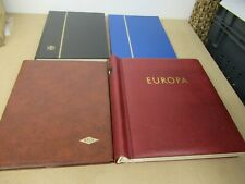 World stamps collection in 4 large stockbooks (1000s)