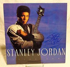 Stanley Jordan Signed Autographed Album D