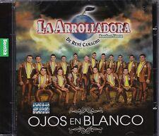 La Arrolladora Banda el Limon De Rene Camacho Ojos en Blanco CD New Nuevo Sealed
