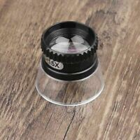 15X Mini Monocular Magnifying Glass Loupe Lens Eye Magnifier Jewelry Repair Tool