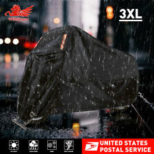 XXXL Motorcycle Cover Waterproof Heavy Duty For Winter Outside Storage Snow Rain