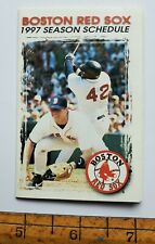 1997 BOSTON RED SOX SEASON SCHEDULE & MAIL ORDER TICKET REQUEST