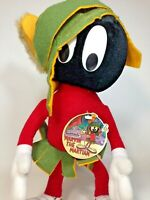 "Marvin the Martian Plush Warner Bros Looney Tunes 12"" Stuffed Doll Toy 24K 1993"