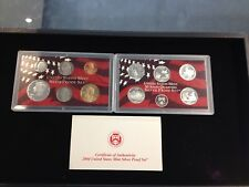 2004-S Complete SILVER Proof Set w Box and COA