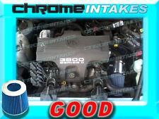 BLACK BLUE 1998 1999 CHEVY CHEVROLET MONTE CARLO Z34 3.8 3.8L V6 AIR INTAKE KIT