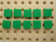 Lego Green Flat Tile 1x1 10 pieces NEW!!!