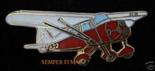 Piper Tri Pacer Pa 22 Hat Lapel Pin Tie Tac Airplane Pilot Solo Wing Gift Wow!