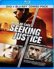Seeking Justice (Blu-ray 2012, 1-Disc Set)  Nicholas Cage Guy Pearce