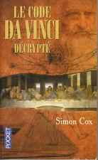 Livre de Poche le code Da Vinci décrypté Simon Cox book