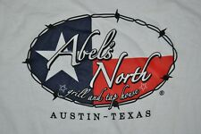T-SHIRT M MEDIUM CAINS AND ABELS GRILL AND TAP HOUSE AUSTIN TEXAS SHIRT