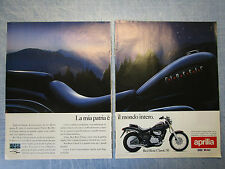 MOTOSPRINT993-PUBBLICITA'/ADVERTISING-1993-APRILIA RED ROSE CLASSIC 50 (2 fogli)