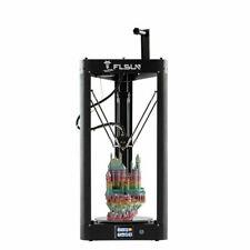 2020 FLSUN QQ-S Delta 3D Printer 255*255*360mm Resume Print TFT PLA