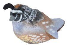 CALIFORNIA QUAIL Audubon Bird w/ call stuffed animal plush Wild Republic