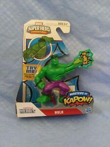 NEW Playskool Marvel Super Hero Adventures HULK Masters of Kapow FACTORY SEALED