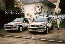 Didier Auriol Lancia Delta Integrale 16v Portugal Rally 1990 Photograph
