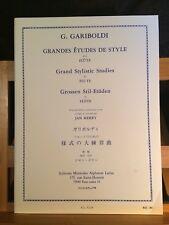 Gariboldi Grandes études de style pour flûte Jan Merry partition éditions Leduc