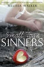 Small Town Sinners by Melissa Walker (2011, Hardcover) 1ST U.S. HC ED BRAND NEW