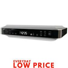 Radio Bluetooth Under Cabinet CD Player Undermount Kitchen Counter Stereo Timer