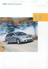 Opel Vectra Caravan Prospekt 3/01 brochure 2001 Auto PKWs Deutschland Verkehr