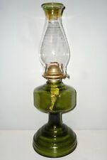 Crisa Early American Pressed Oil Lamp 45cm 18 inch