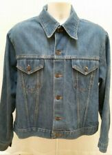Vintage SEARS ROEBUCKS Denim Western Wear Button Jean Jacket - Size L