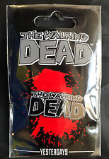 THE WALKING DEAD COMIC LOGO PIN/BADGE BY YESTERDAYS/SKYBOUND