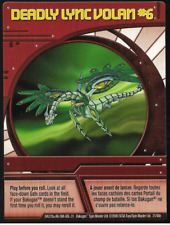 Bakugan Battle Brawlers Ability Card Deadly Lync Volan #6 (Altair) BA378a 31/48e