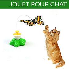 Jouet pour chat chaton amusant papillons volant animaux à piles