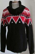 NWT Ralph Lauren LRL Nordic Ski Turtleneck Cowl Neck Knit Sweater Size XL