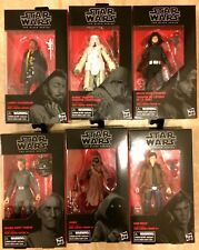 """Authentic Hasbro Sealed Star Wars Black Series 6"""" Han Solo Wave 16 Set of 6"""